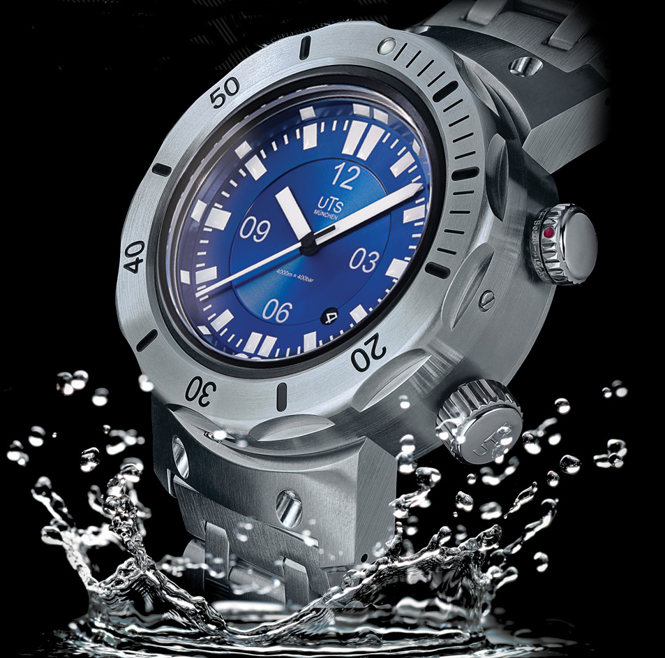 4 000m divers watch for Under water watches