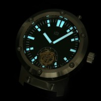 Tourbillon divers watch