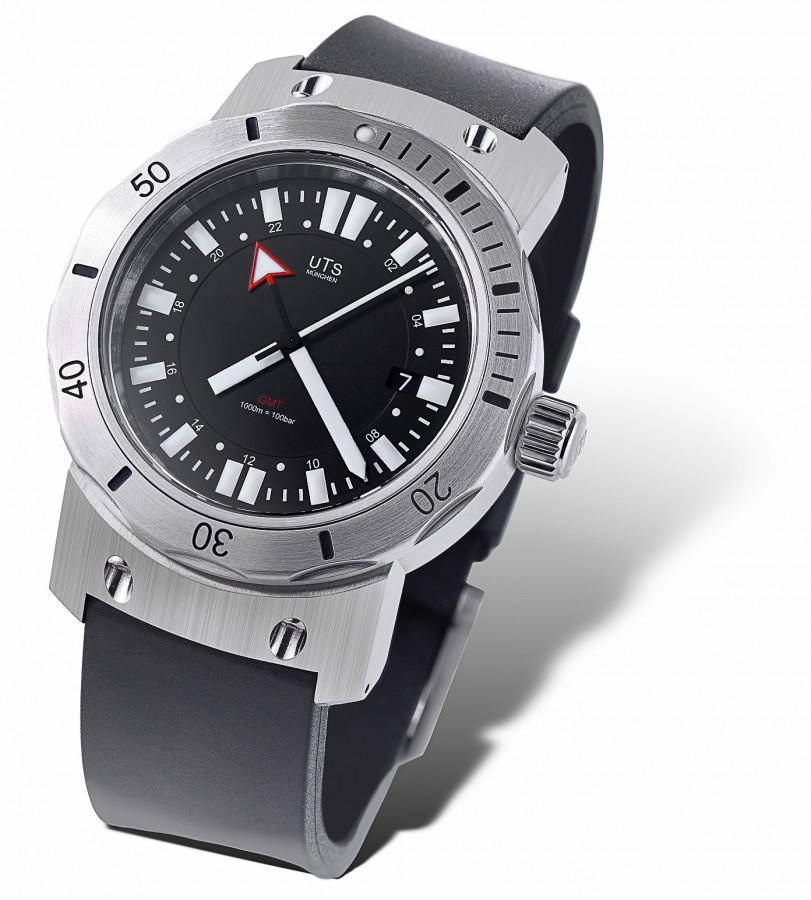 Gmt Dive Watch Uts 1000m Gmt